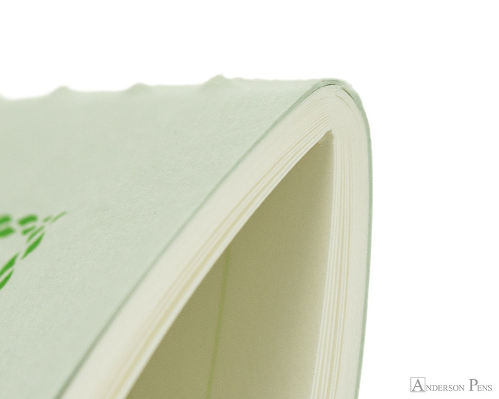 Life Pistachio Notebook - A6 (4 x 6), Lined Paper - Binding