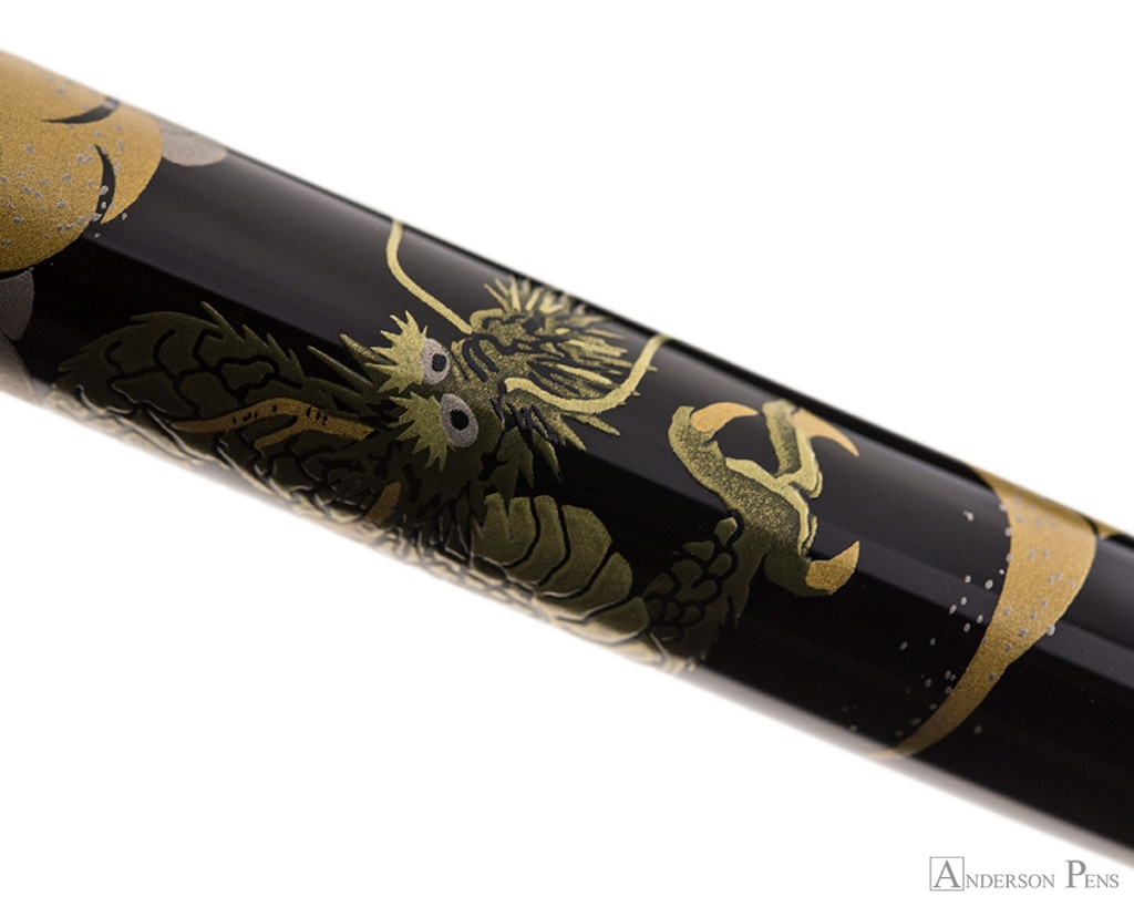 Namiki Nippon Art Fountain Pen - Dragon with Cumulus - Pattern 2