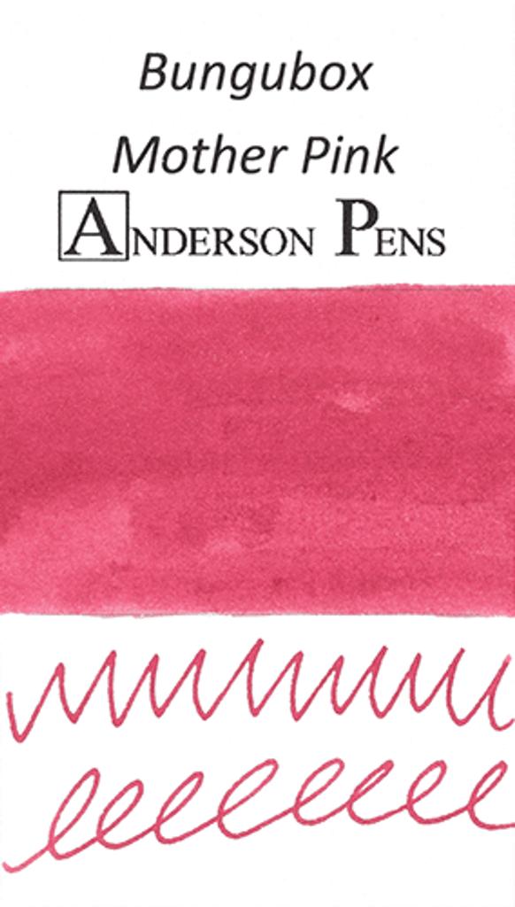 Bungubox Mother Pink Ink Sample color swab