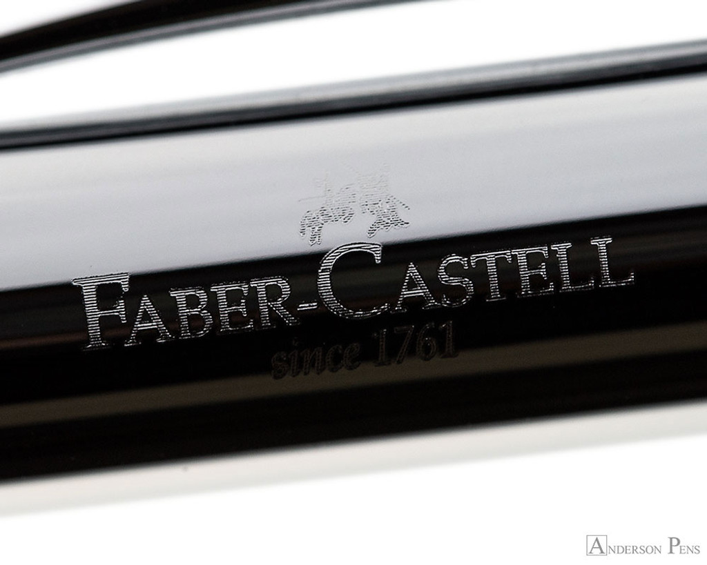 Faber-Castell Ambition Fountain Pen - Rhombus Black