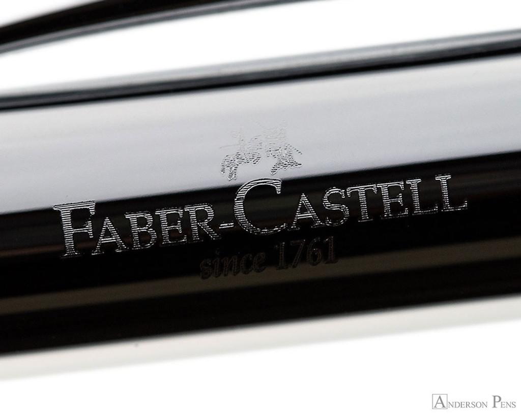 Faber-Castell Ambition Fountain Pen - Rhombus Black - Imprint