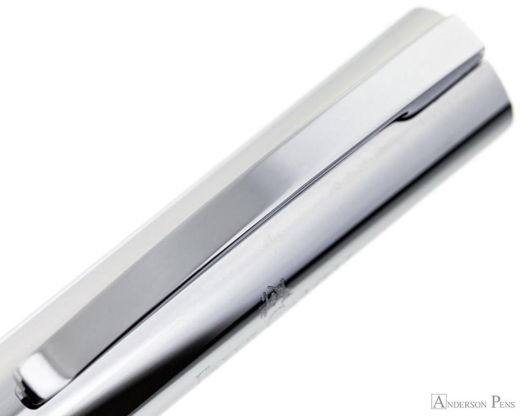 Faber-Castell Ambition Fountain Pen - Rhombus Black - Clip