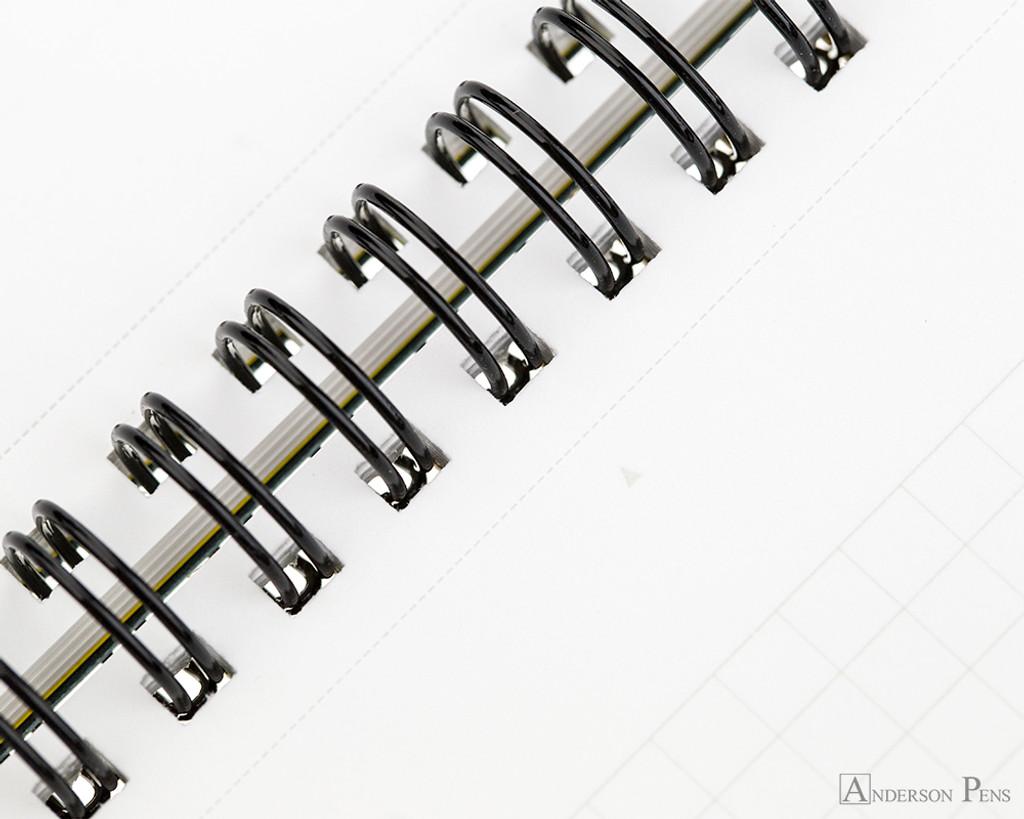 Maruman Mnemosyne N180A Notebook A4 - Graph - Binding