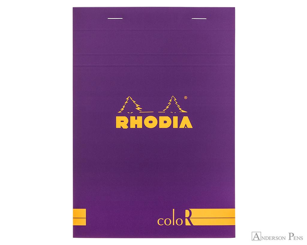 Rhodia No. 16 Premium Notepad - A5, Lined - Purple