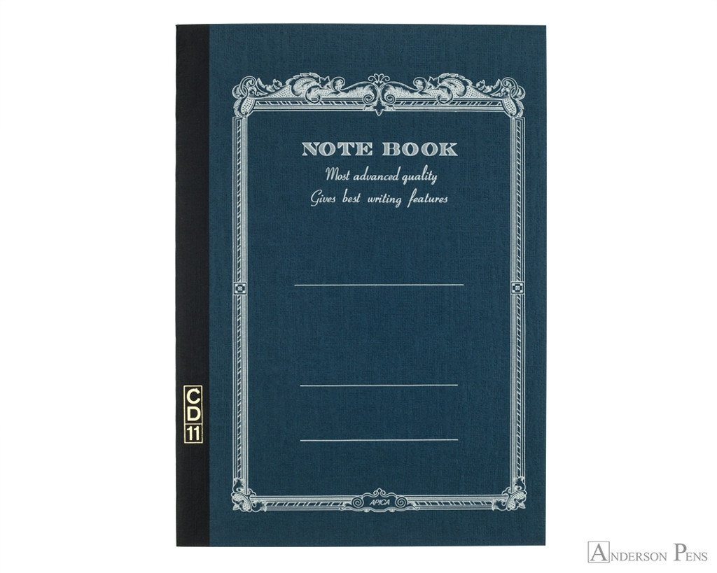 APICA CD Notebook A5 - Navy, Lined
