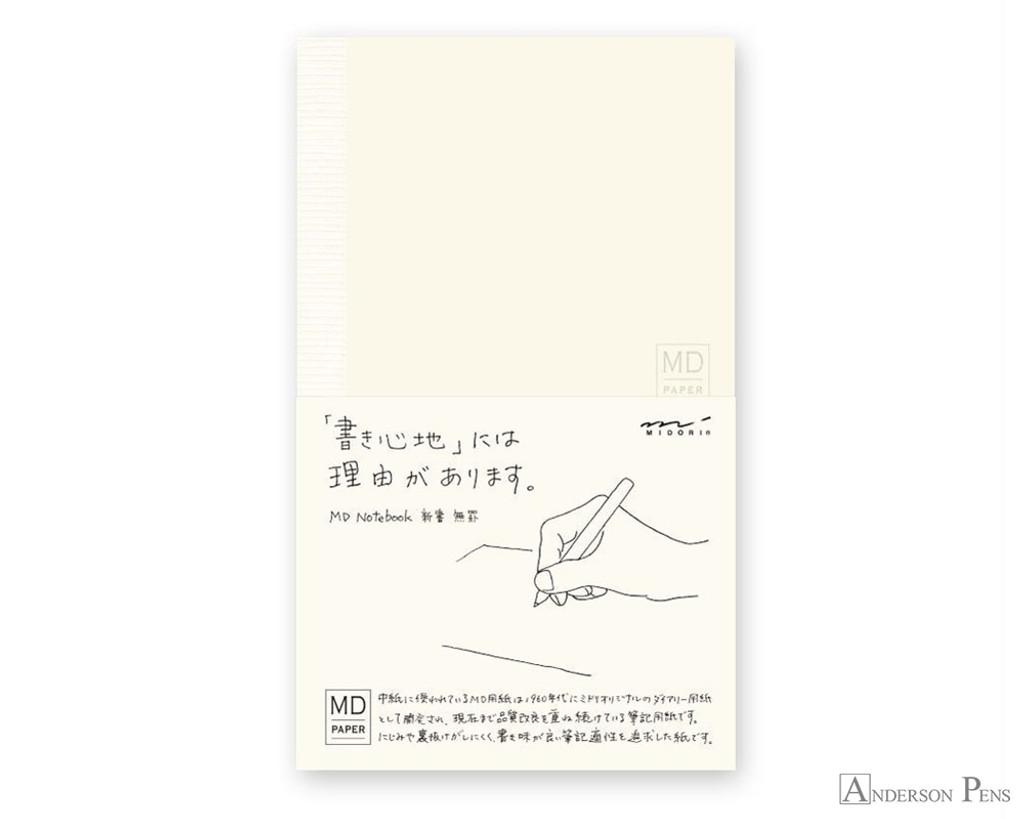 Midori MD Notebook B6 Slim - Blank