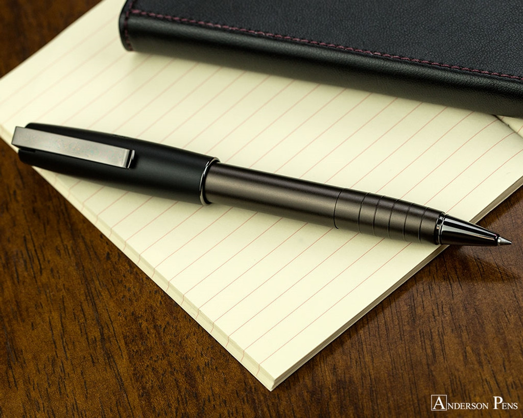 Faber-Castell Loom Rollerball - Gunmetal Matte - Posted on Notebook
