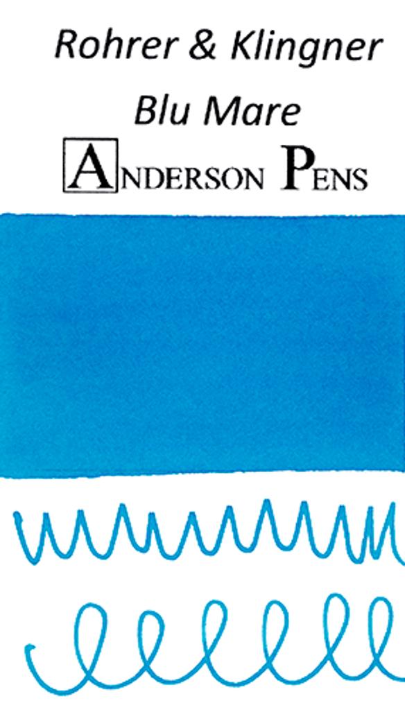 Rohrer & Klingner Blu Mare Ink Color Swab