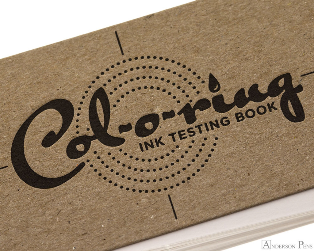 Col-o-ring Ink Testing Book package view