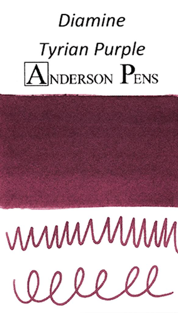 Diamine Tyrian Purple Ink Sample (3ml Vial)