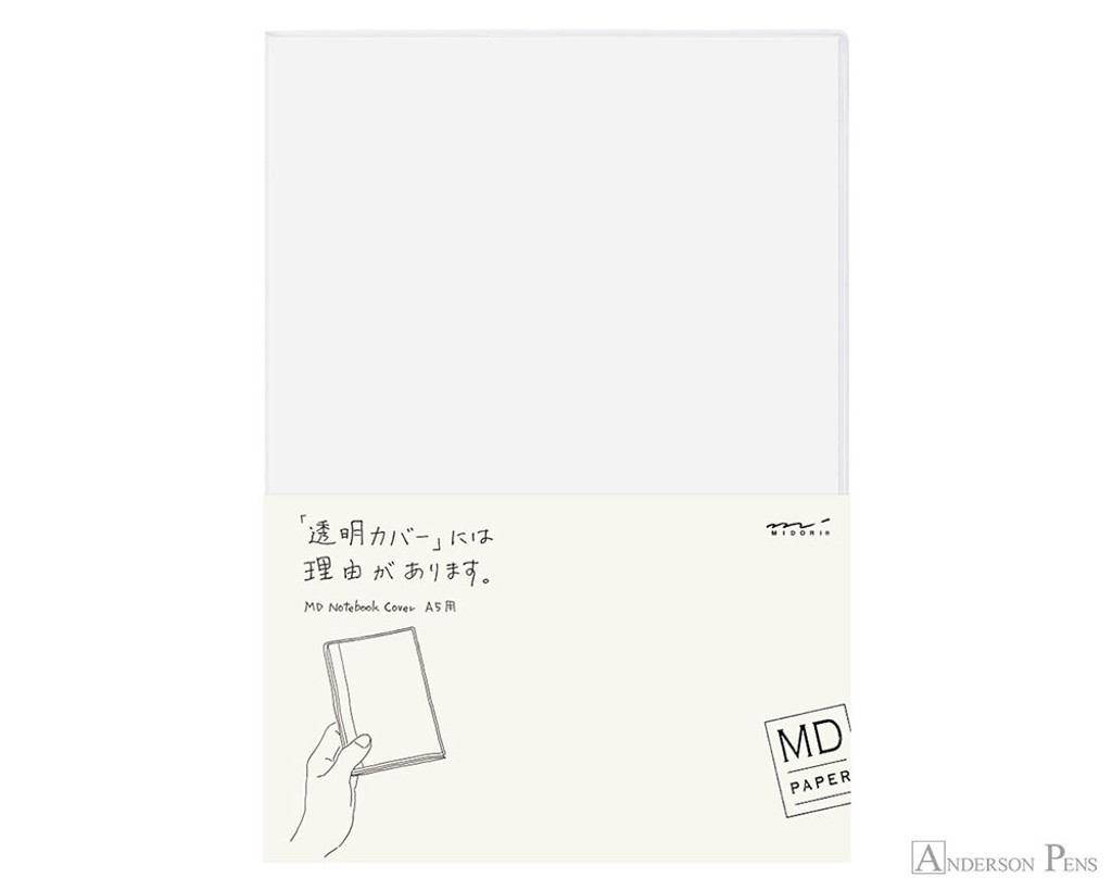 Midori MD Notebook Cover A5 - Clear