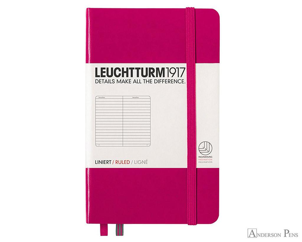 Leuchtturm1917 Notebook - A6, Lined - Berry