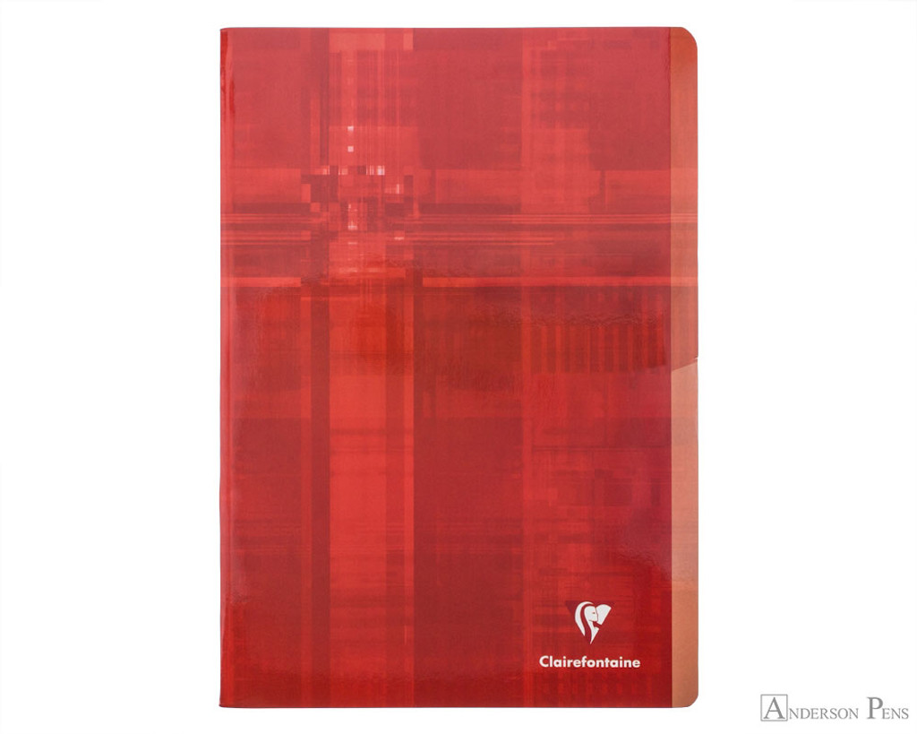 Clairefontaine Classic Staplebound 2 Subject Notebook -  A4, Lined - Assorted