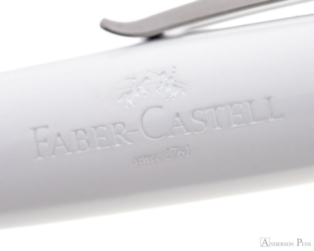 Faber-Castell Loom Ballpoint - Piano White
