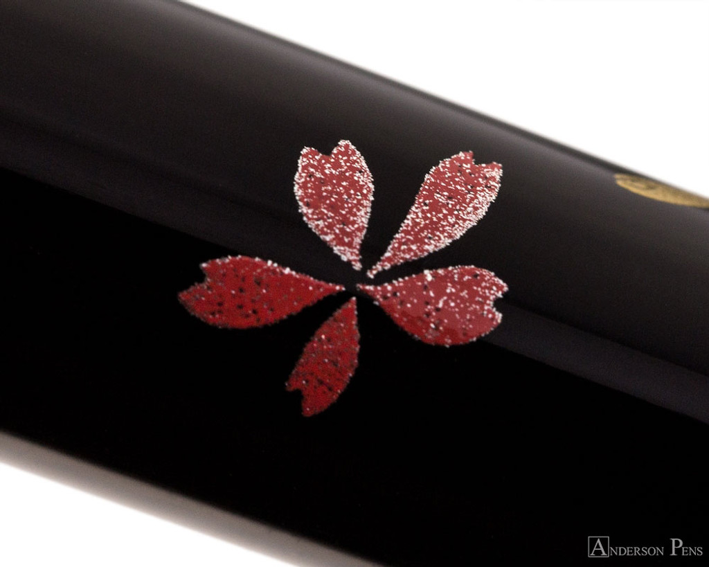 Platinum Classic Maki-e Fountain Pen - Phoenix - Pattern 2