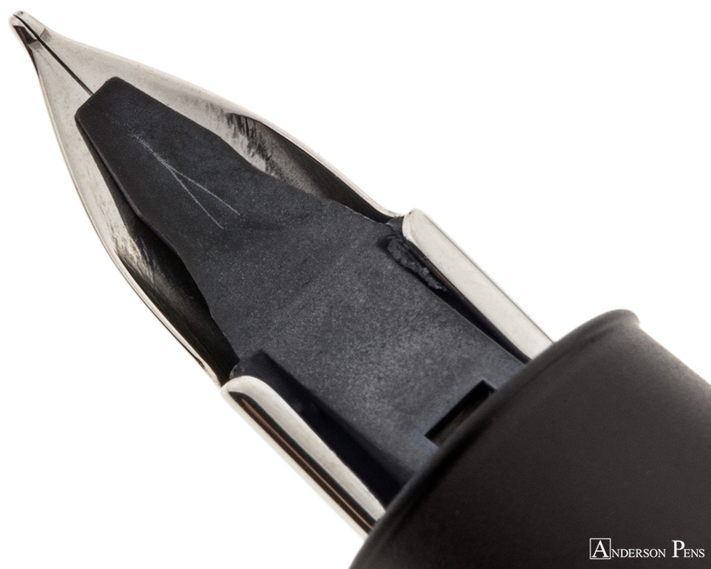 LAMY Aion Fountain Pen - Black feed closeup