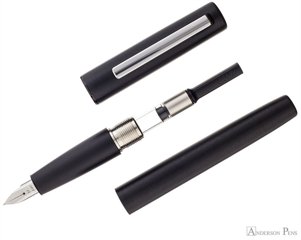 LAMY Aion Fountain Pen - Black parted shot