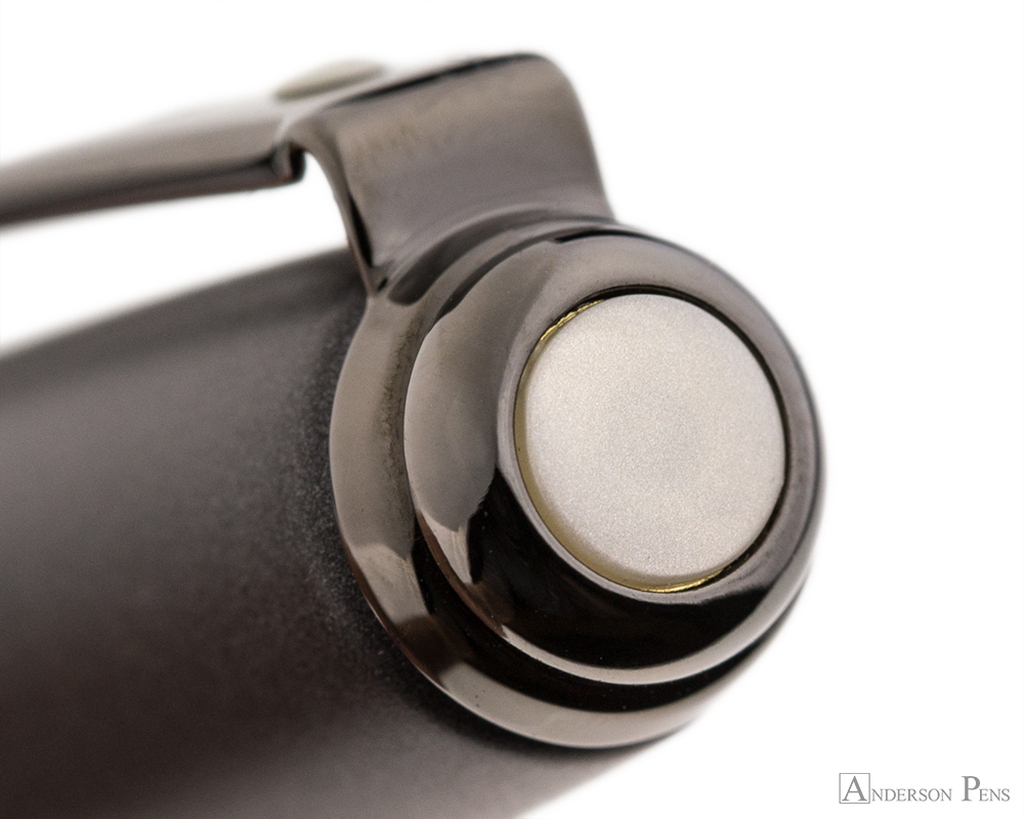 Sheaffer Prelude Matte Gunmetal-Tone Fountain Pen - Cap Jewel