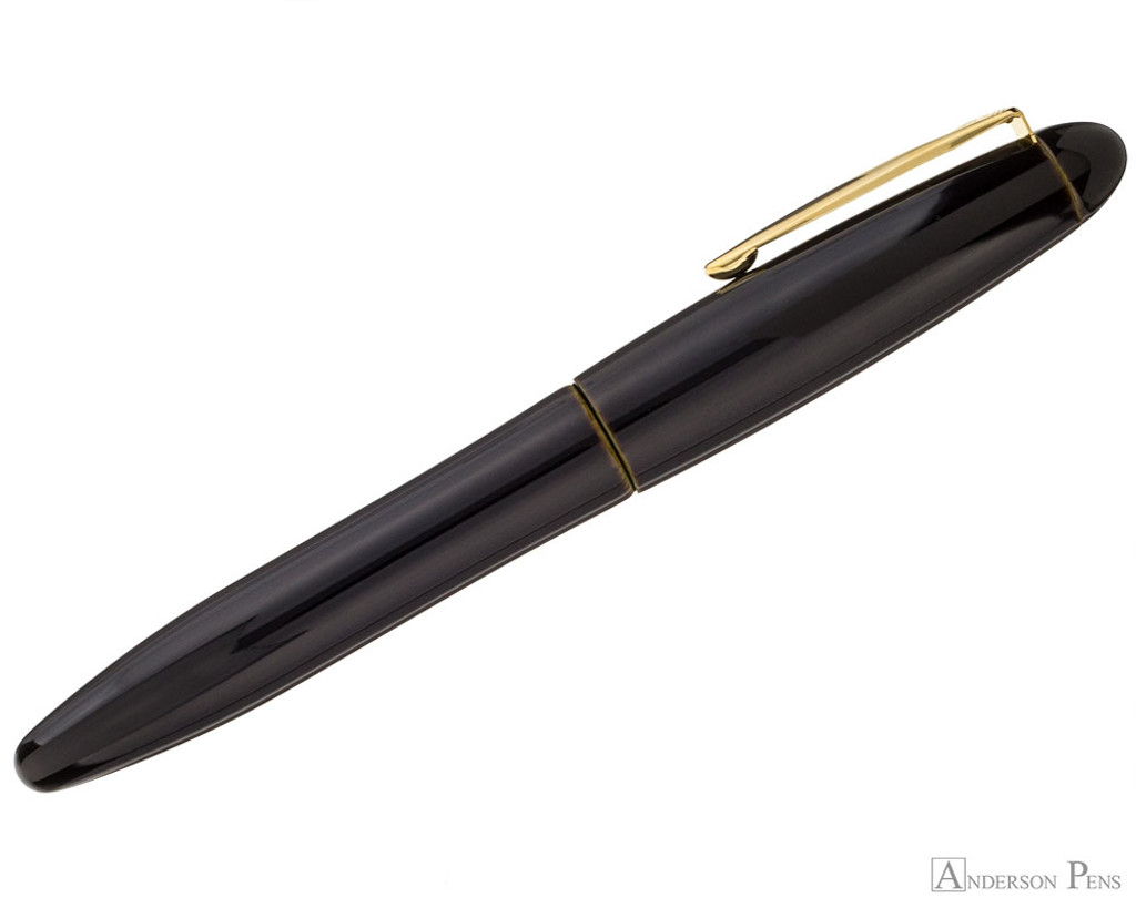 Platinum Izumo Fountain Pen - Biwatame Tan - Profile