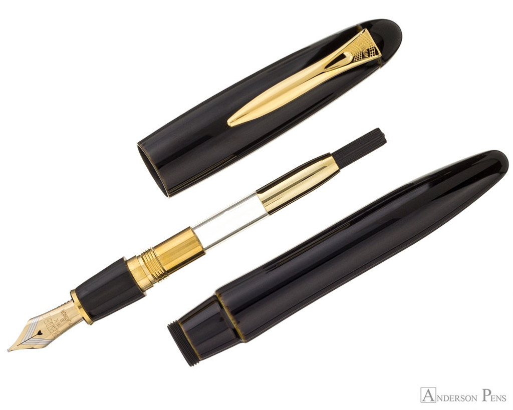 Platinum Izumo Fountain Pen - Biwatame Tan - Parted Out