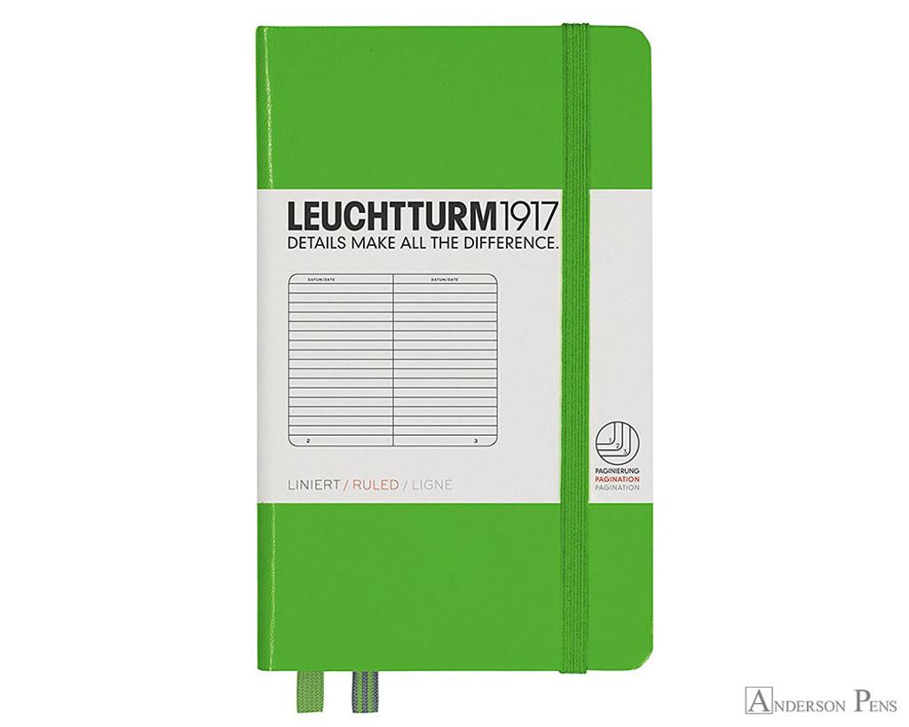 Leuchtturm1917 Notebook - A6, Lined - Fresh Green