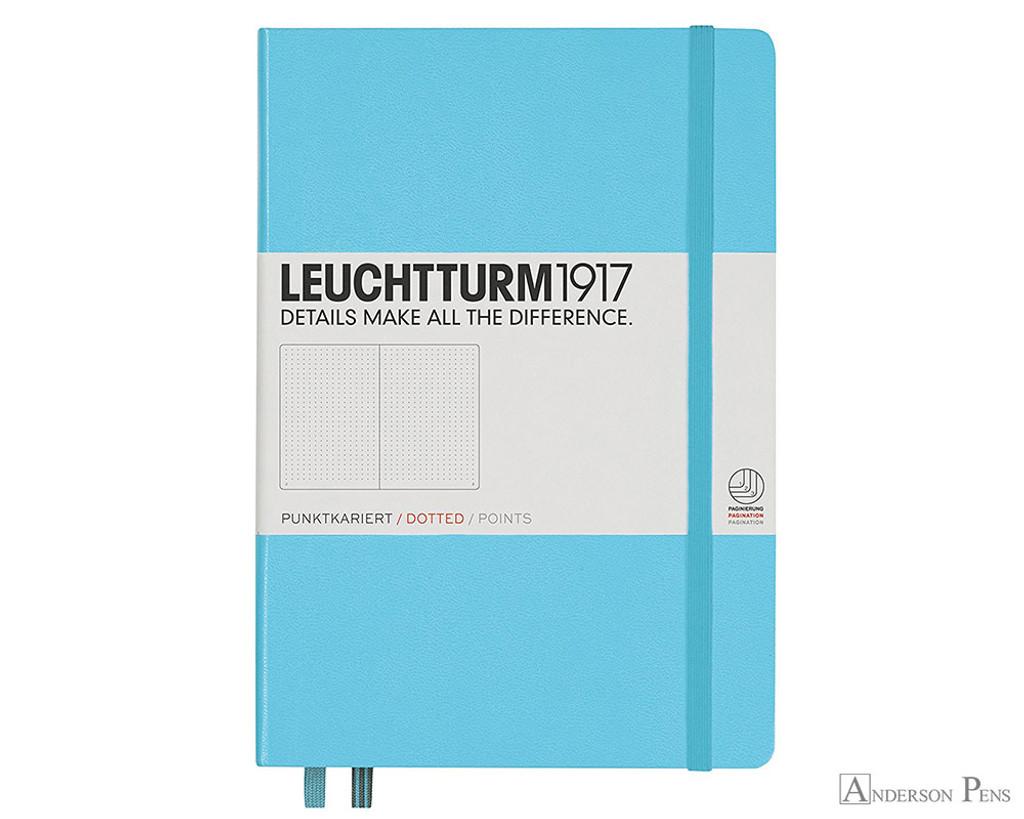 Leuchtturm1917 Notebook - A5, Dot Grid - Ice Blue