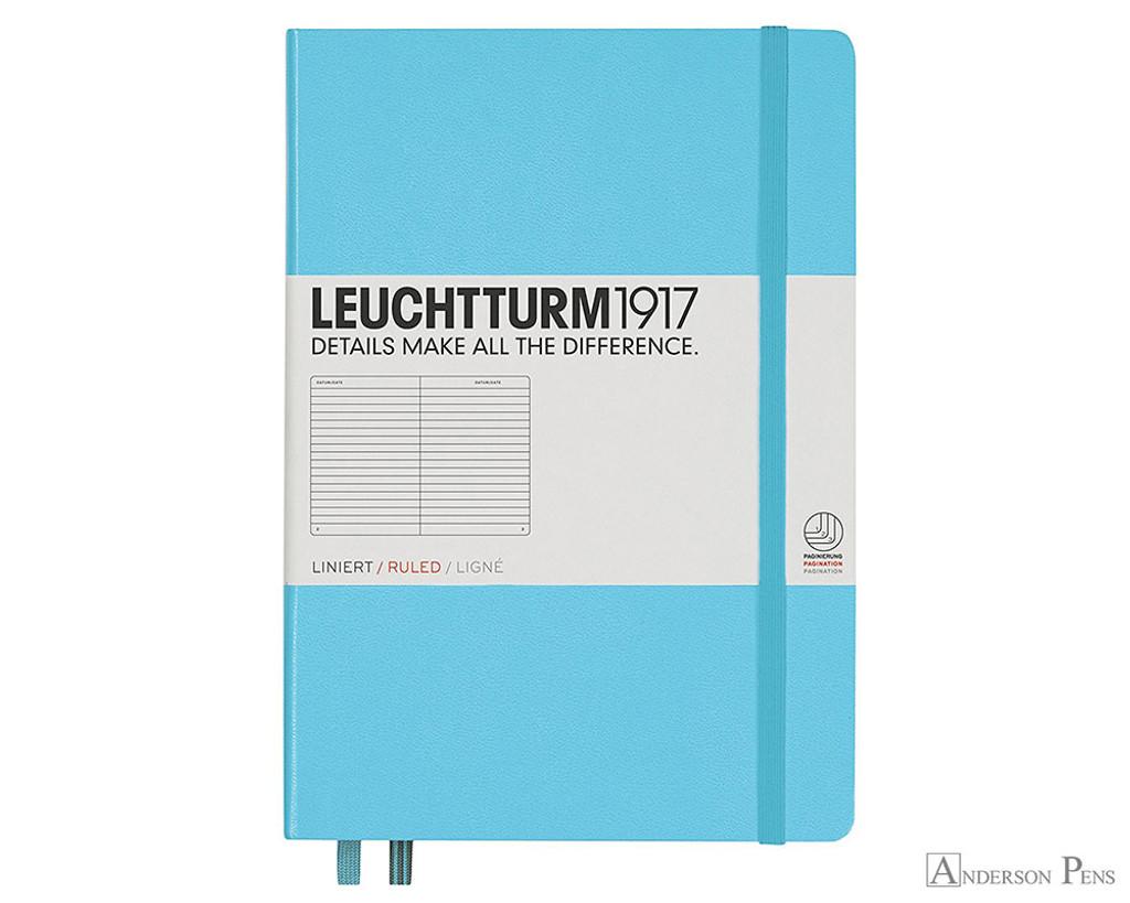 Leuchtturm1917 Notebook - A5, Lined - Ice Blue