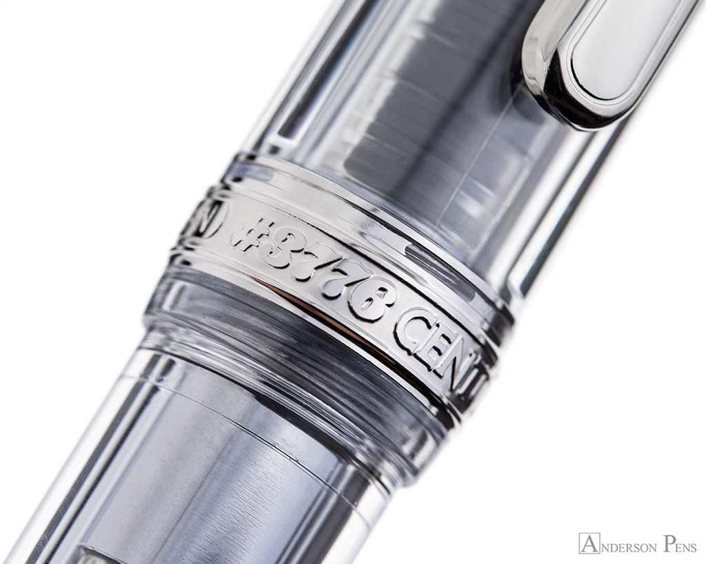 Platinum 3776 Century Fountain Pen - Oshino - Cap Band 2