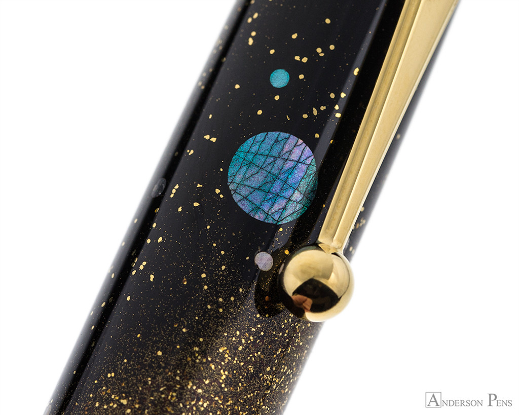 Namiki Yukari Maki-e Fountain Pen - Milky Way - Pattern 2