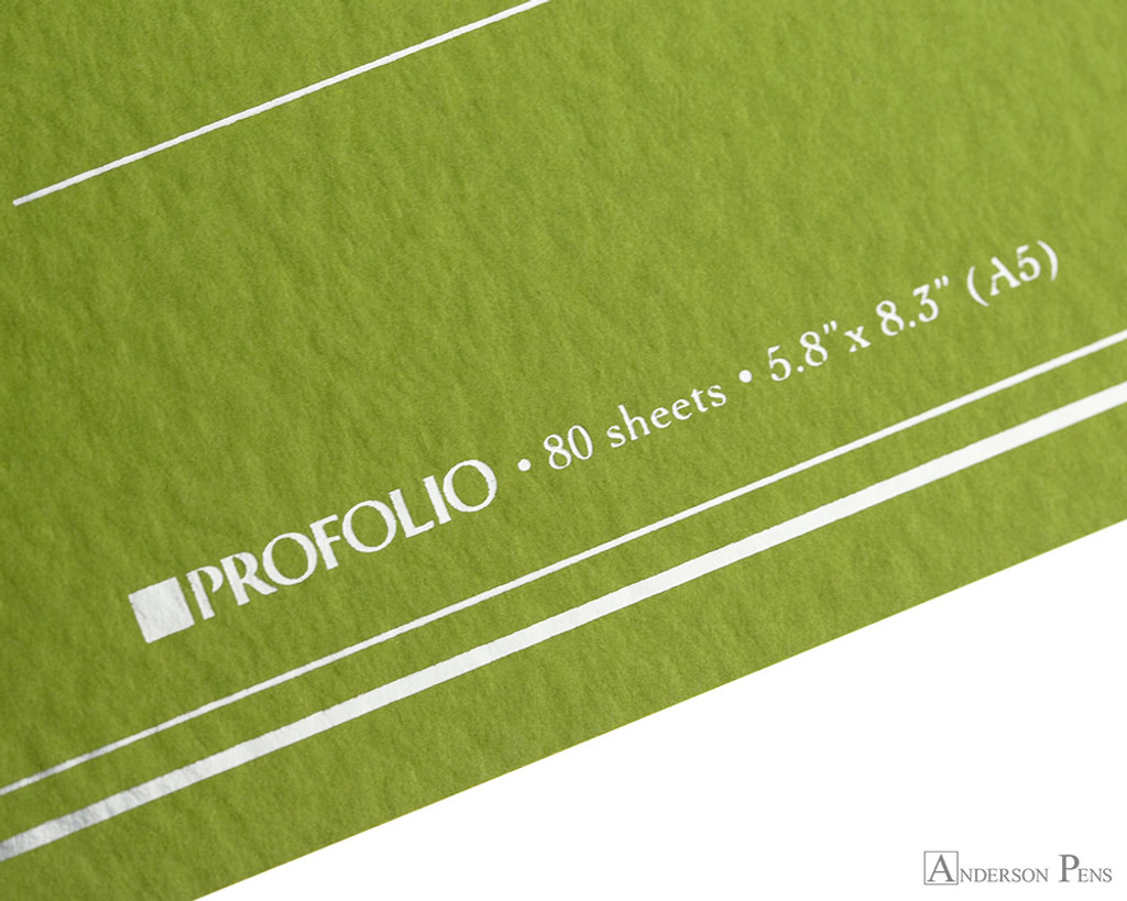ProFolio Oasis Notebook - A5, Green