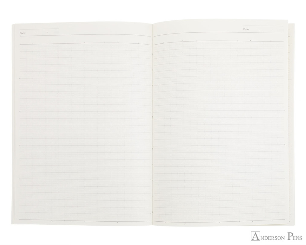 ProFolio Oasis Notebook - A5, Red - open