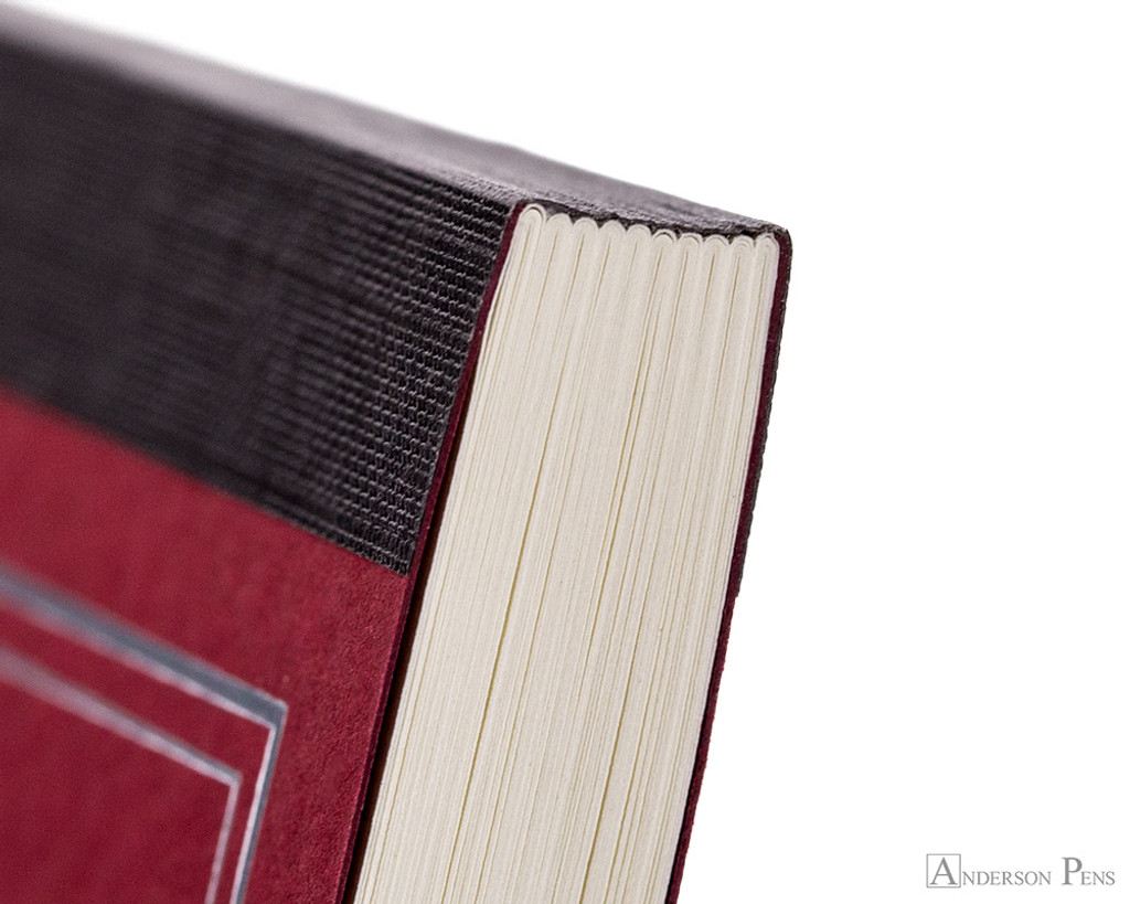 ProFolio Oasis Notebook - A6, Red - Binding