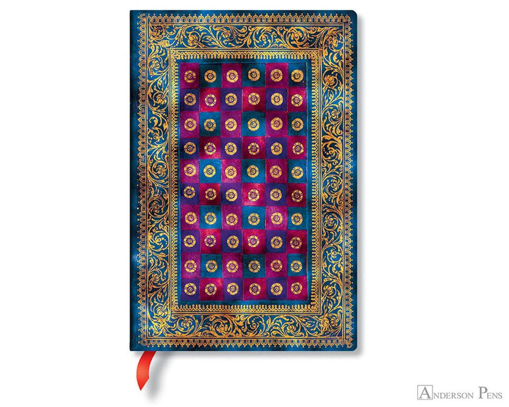 Paperblanks Mini Journal - Venetian Morning Celeste, Lined