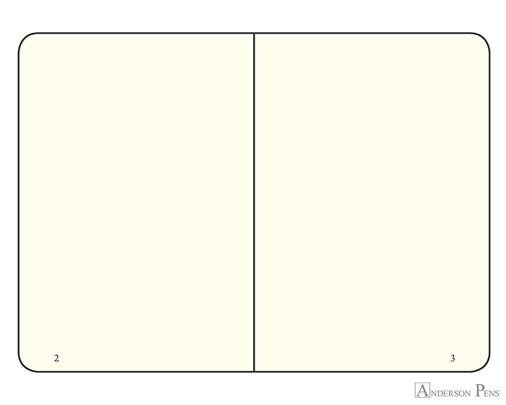Leuchtturm1917 Notebook - A7, Blank - Army open