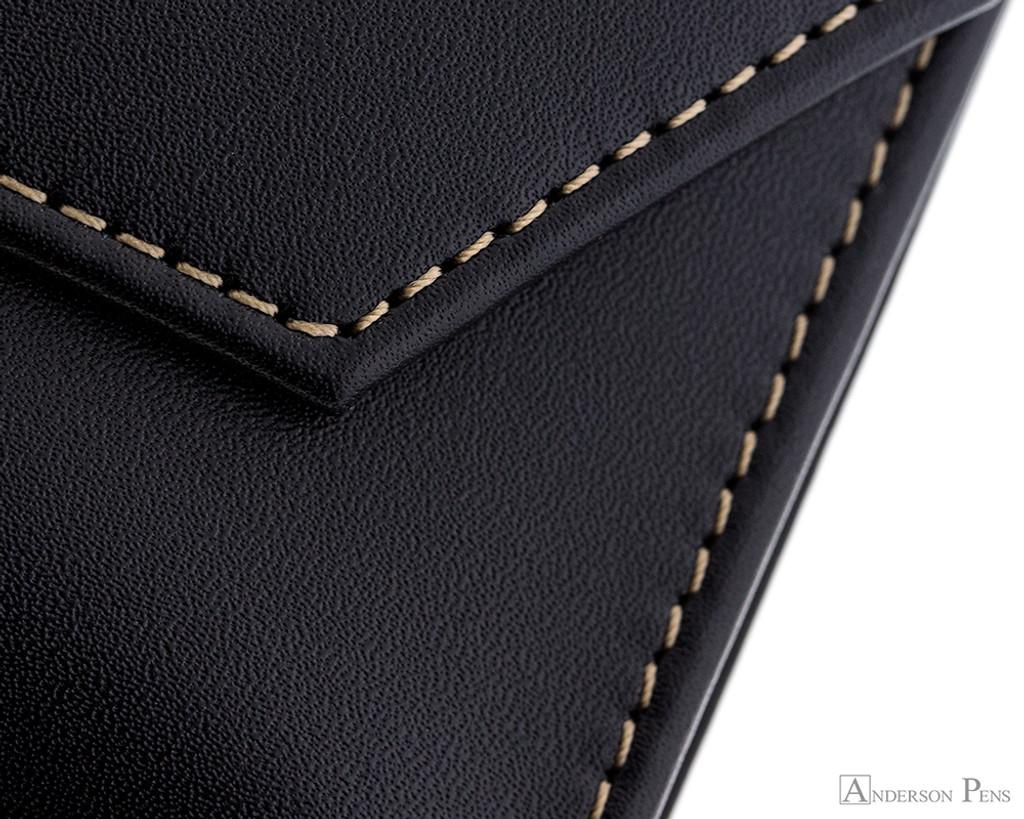 Franklin-Christoph Penvelope Six - Black - Stitching