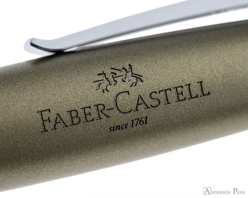 Faber-Castell Loom Metallic Olive Green Fountain Pen