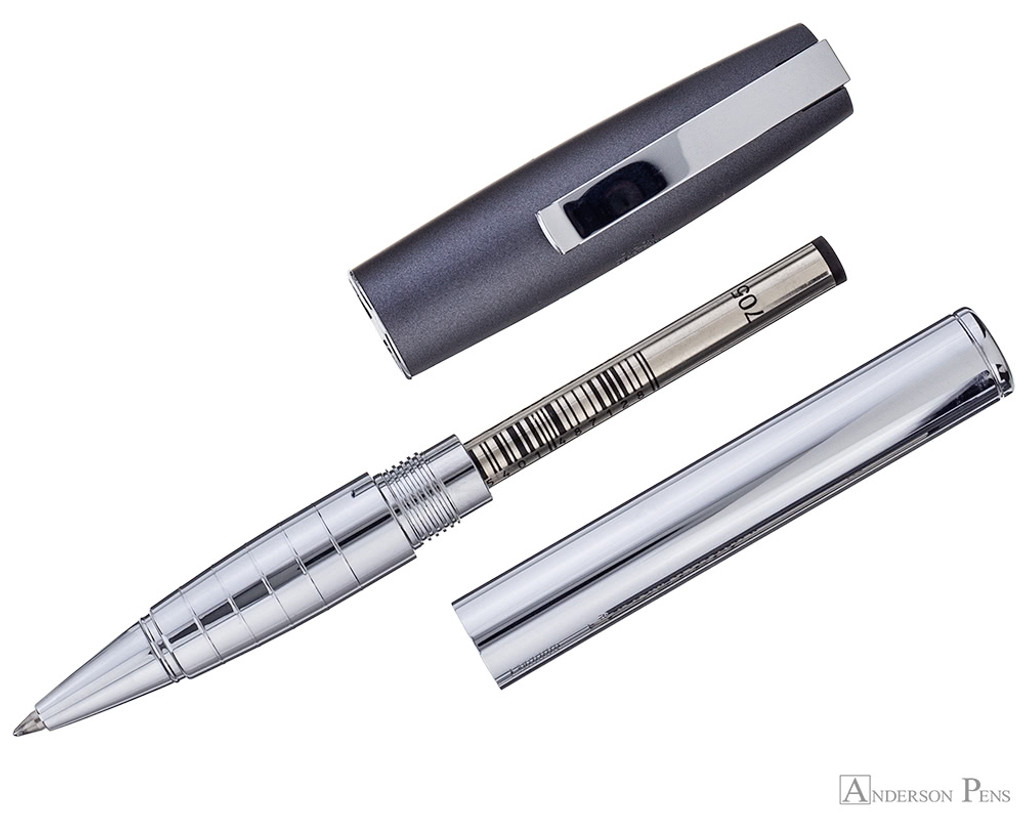 Faber-Castell Loom Rollerball - Metallic Grey - Parted Out