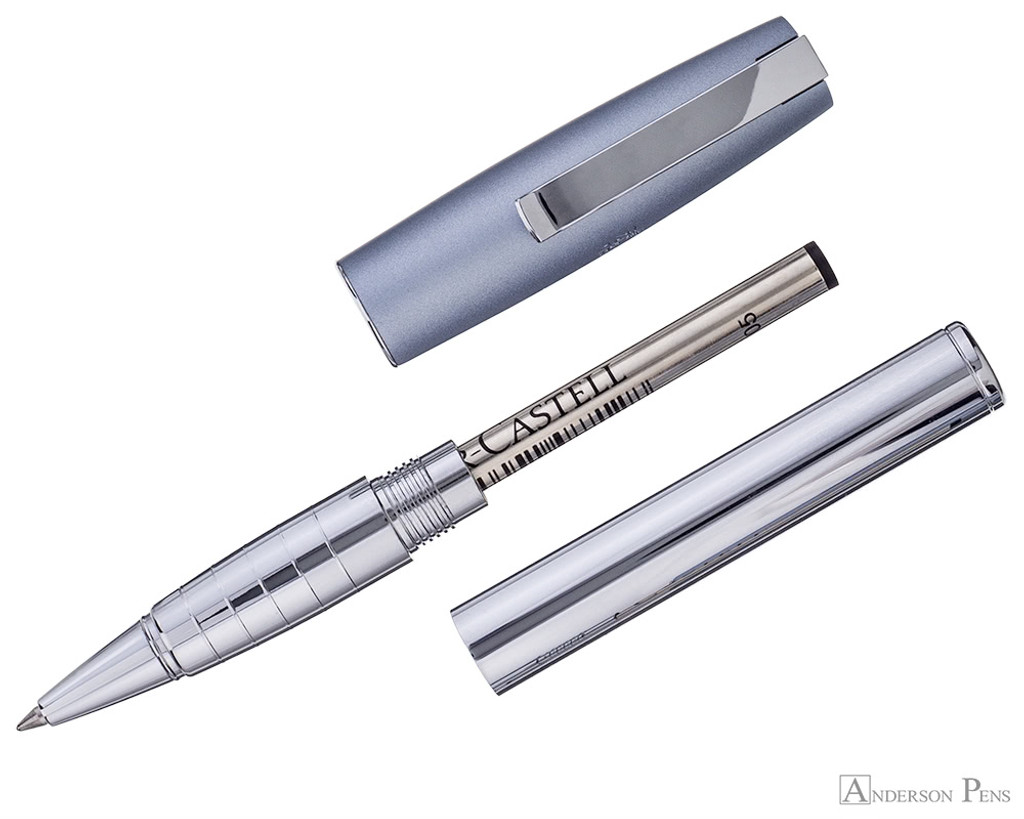 Faber-Castell Loom Rollerball - Metallic Light Blue