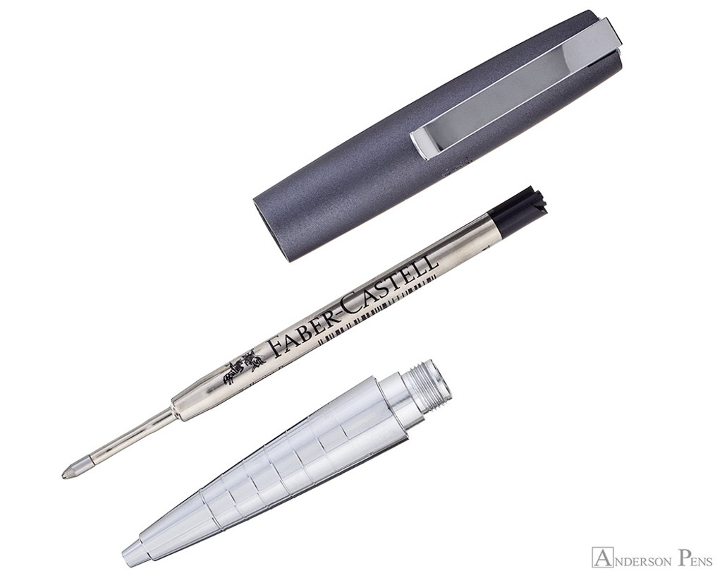 Faber-Castell Loom Ballpoint  - Metallic Grey - Parted Out