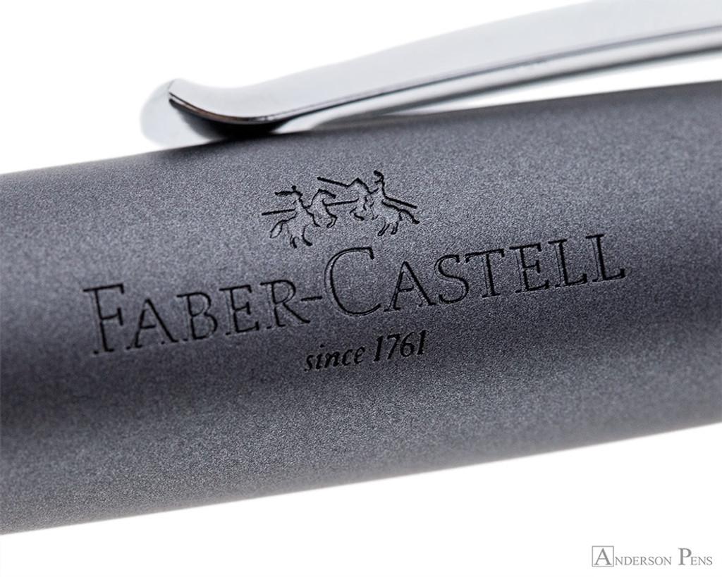 Faber-Castell Loom Ballpoint  - Metallic Grey - Imprint