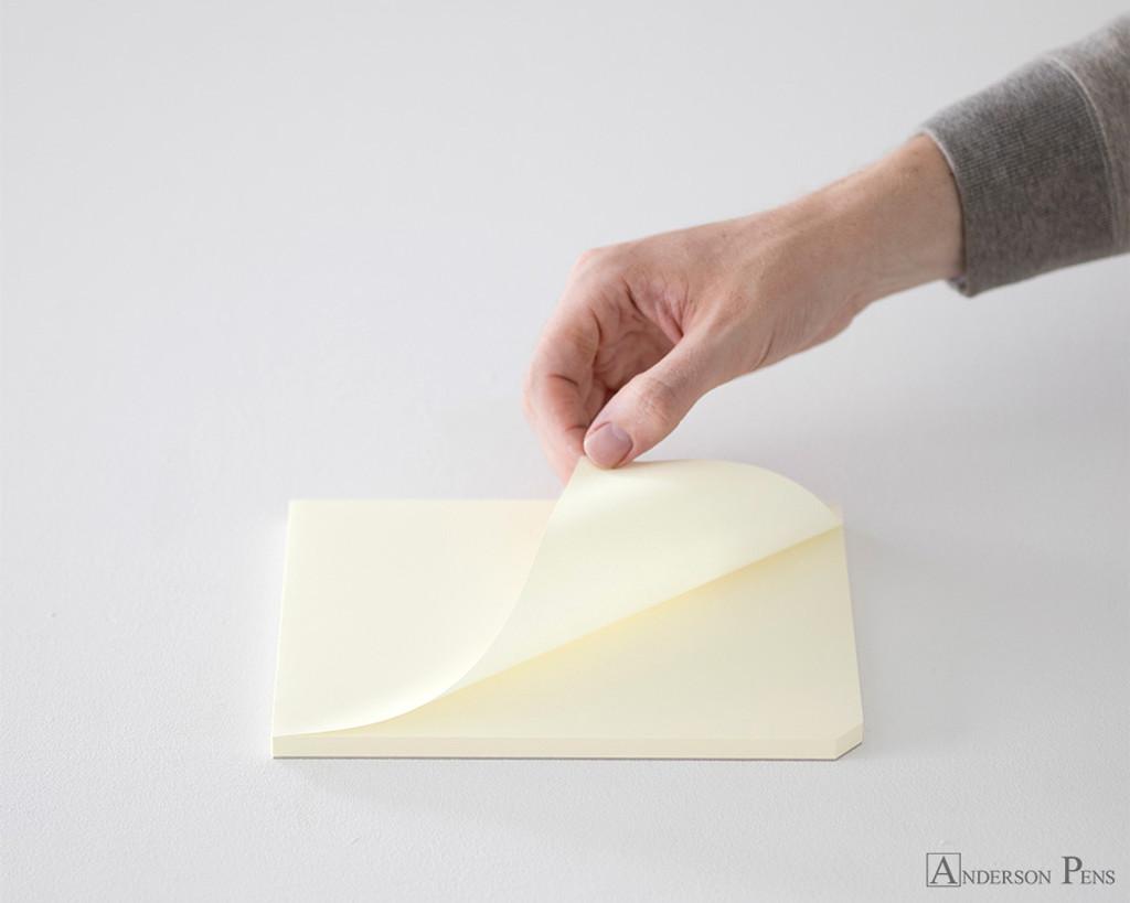 Midori MD Paper Pad A5 - Cream, Blank