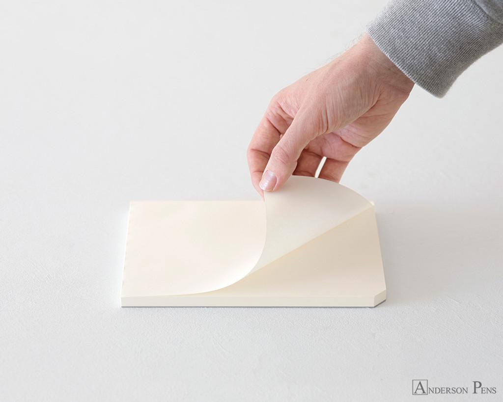 Midori MD Paper Pad A5 - Cotton, Blank - Sheet