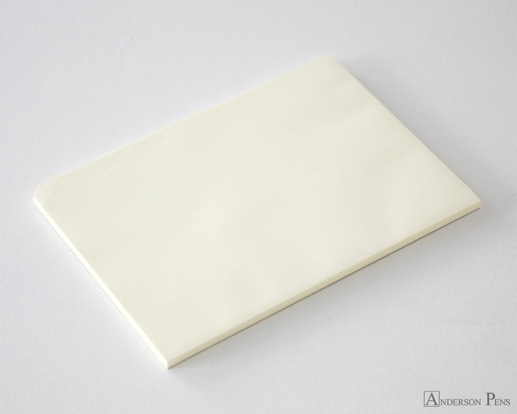 Midori MD Paper Pad A4 - Cream, Blank - Open