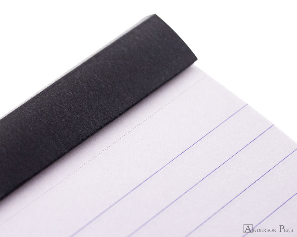 Rhodia No. 11 Staplebound Notepad - 3 x 4, Lined - Black detail