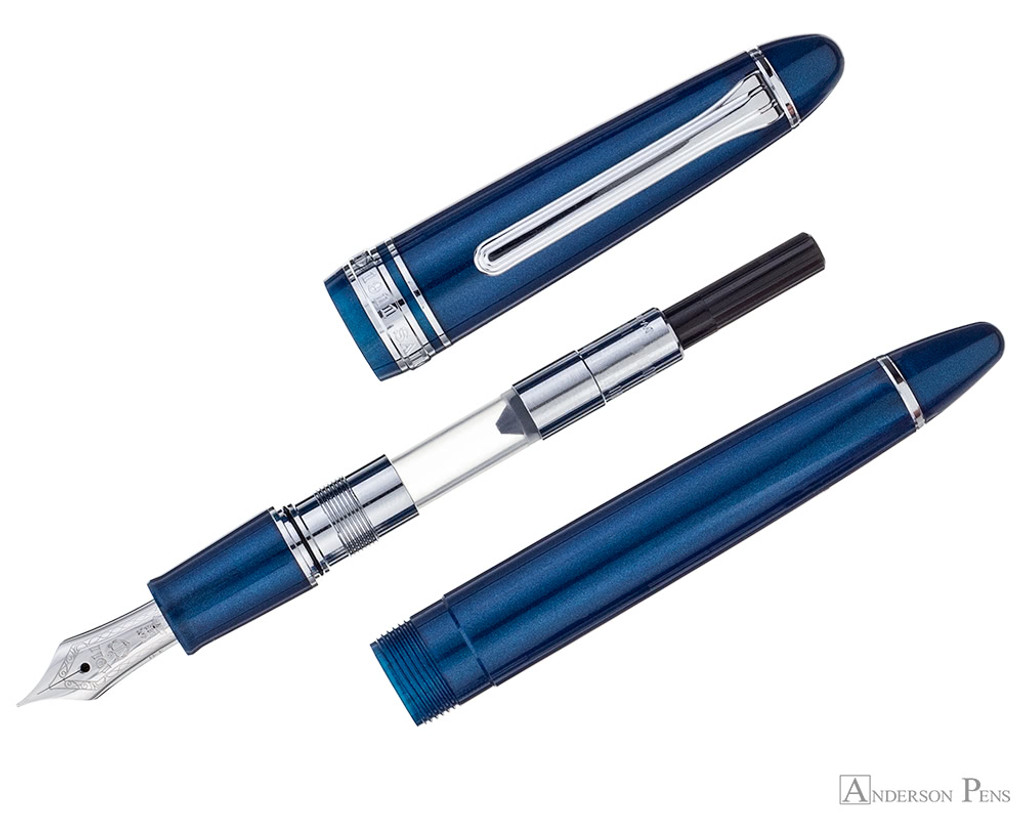 Sailor 1911 Standard Fountain Pen - Stormy Sea with Rhodium Trim