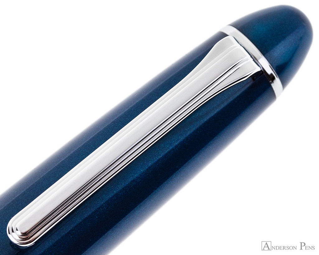 Sailor 1911 Large Fountain Pen - Stormy Sea with Rhodium Trim