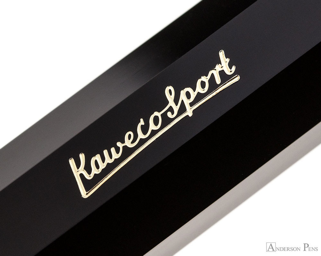 Kaweco Classic Sport Fountain Pen - Black - Imprint