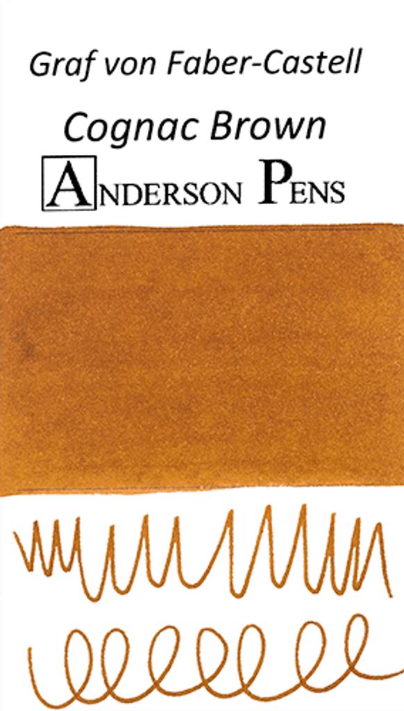 Graf von Faber-Castell Cognac Brown Ink Color Swab