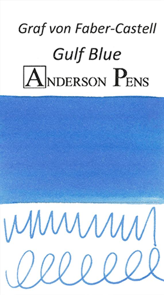 Graf von Faber-Castell Gulf Blue Ink Color Swab