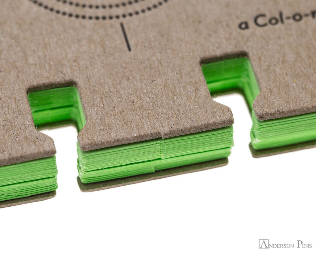 Col-o-dex Tab Accessory Pack - Limeade Green cut-out view